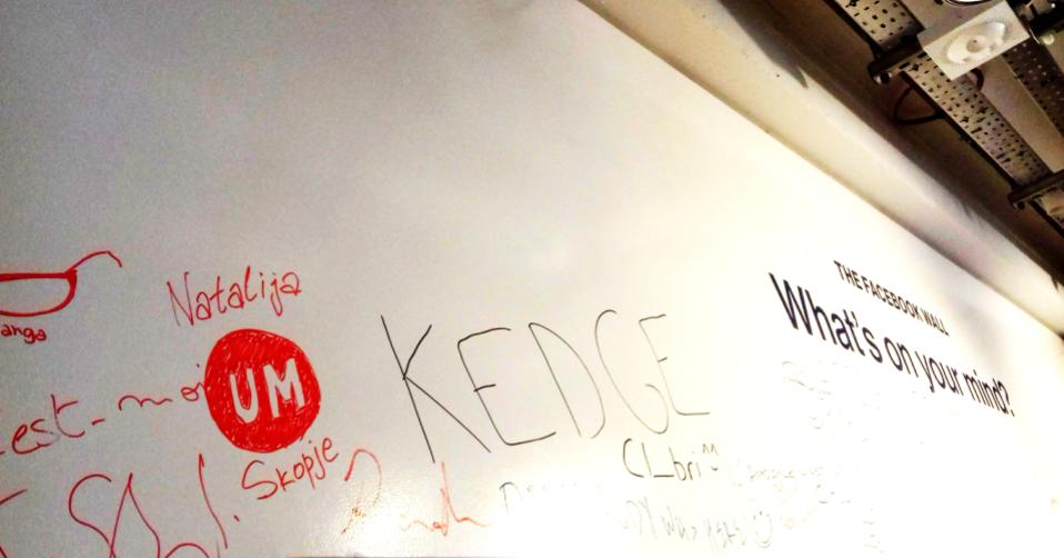 Facebook wall - UM Skopje